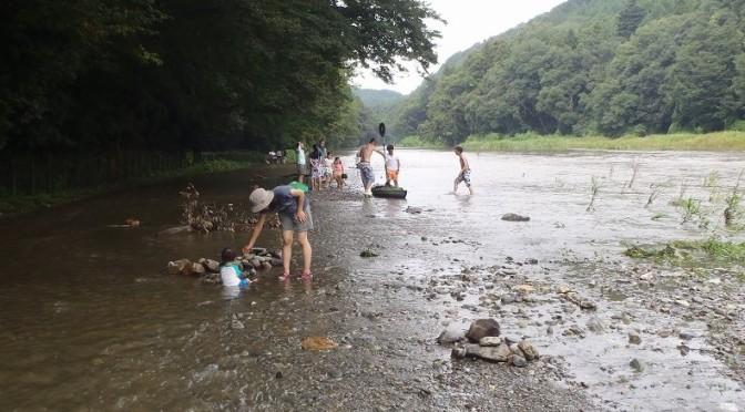 川遊びのお供に『河川水位情報』